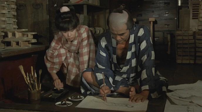 Фильм рисунки хокусая